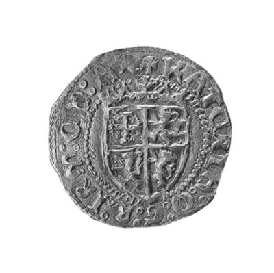 Bank of Cyprus Cultural Foundation: Coin of  Queen Catherine Cornaro and King James III (1473-1474)