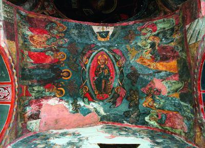 Holy Bishopric of Morphou: The Ascension of Christ, Monastery of Saint John Lampadistis in Kalopanayiotis