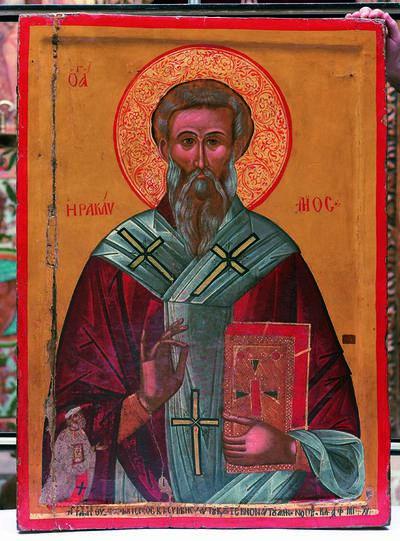 Holy Bishopric of Morphou: Saint Heraclidius, Monastery of Saint John Lampadistis in Kalopanayiotis