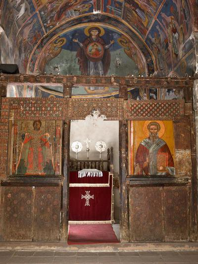 Holy Bishopric of Morphou: The icon screen of the main church of Saint Heraclidius, Monastery of Saint John Lampadistis in Kalopanayiotis
