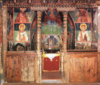 Holy Bishopric of Morphou: The iconostasis, Church of the Archangel Michael in Pedoulas