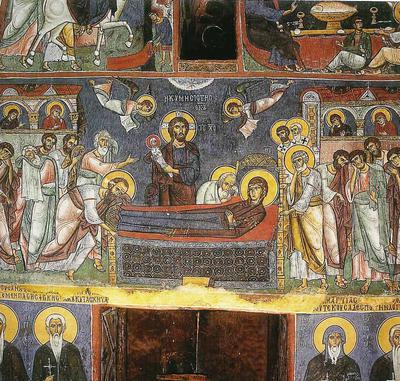 Holy Bishopric of Morphou: The Dormition of the Theotokos, Church of Our Lady of Asinou