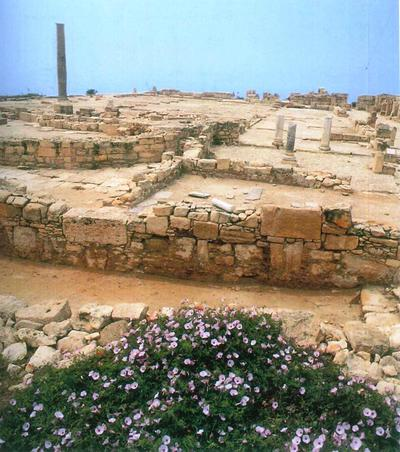 Bank of Cyprus Cultural Foundation: View of the Early Christian Basilica, Kourion