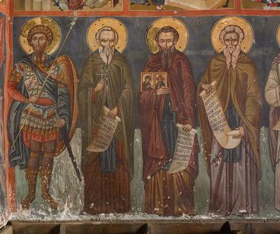 Holy Bishopric of Morphou: St Theodore Stratelates, St Bechianos, St Stephen the Younger and St John Klimax, Church of the Holy Cross of Ayiasmati (1-1, 65)
