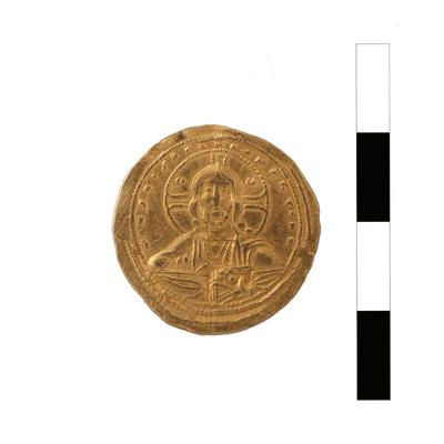 Byzantine Museum of Holy Bishopric of Tamasos and Oreinis (Cyprus): Histamenon of Constantine VIII (1025-1028) (TN120) Obverse