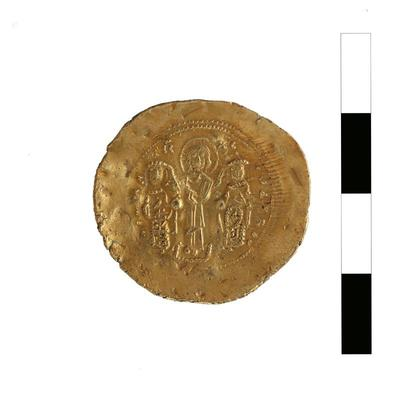 Byzantine Museum of Holy Bishopric of Tamasos and Oreinis (Cyprus): Histamenon of Romanos IV Diogenes (1068-1071) (TN121) Reverse