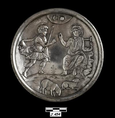 Department of Antiquities Republic of Cyprus: Siver dish (J.454)