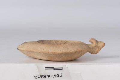 Department of Antiquities Republic of Cyprus: Clay lamp (D. 2787)