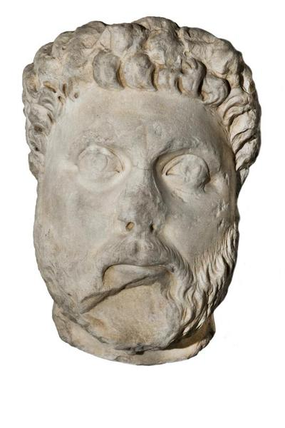 Department of Antiquities Republic of Cyprus: Marble portrait head (E 487)