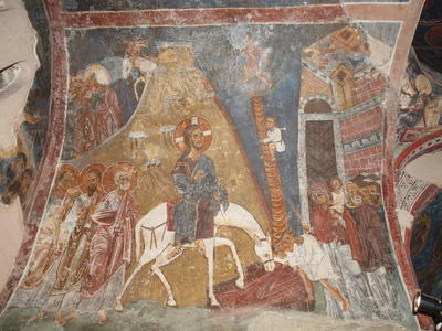 Department of Antiquities, Republic of Cyprus, Kakopetria, Church of Agios Nikolaos tis Stegis (St. Nicholas of the Roof), nave, north side of west vault, wall painting