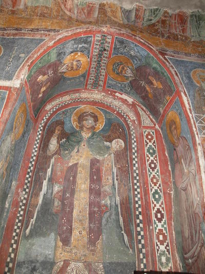 Department of Antiquities, Republic of Cyprus, Kakopetria, Church of Agios Nikolaos tis Stegis (St. Nicholas of the Roof), wall paintings