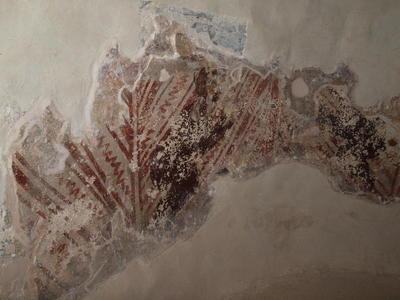 Department of Antiquities, Republic of Cyprus, Kalopanagiotis, Monastery of Saint John Lampadistis, church of Saint Heraκleidios, semicylinder of the apse, wall painting