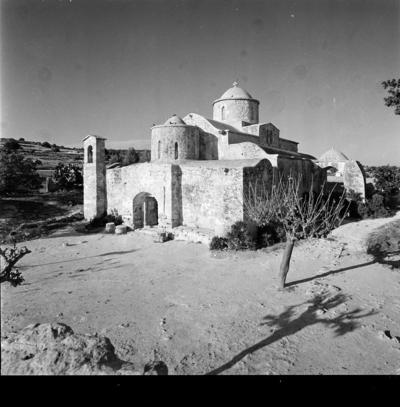 Department of Antiquities, Republic of Cyprus, Lythragkomi, Church of Panagia (Our Lady) of Kanakaria, south-west view of the church (B18398)