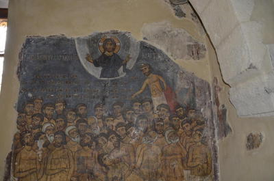 Department of Antiquities, Republic of Cyprus, Kaliana, Church of Saint Anna, north-west arched recess, wall painting
