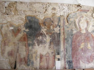 Department of Antiquities, Republic of Cyprus, Aigialousa (or Yialousa), Church of Saint George Sakkas, south wall, wall paintings
