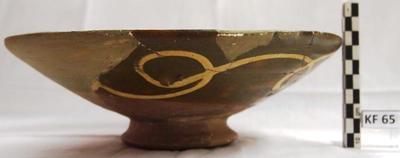 Cyprus Medieval Museum: Bowl (MM146, KF 65)