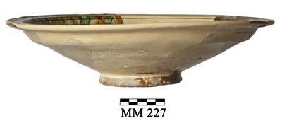 Cyprus Medieval Museum: Bowl (MM227, Kan Cas 16 Room 7)