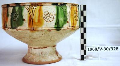 Cyprus Medieval Museum: Bowl (MM294, 1968/V-30/328 ΣΜΚ 328)