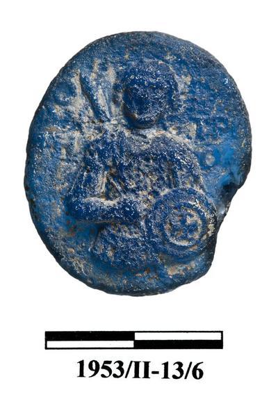 Cyprus Medieval Museum: Plaque (MM520, 1953/II-13/6)