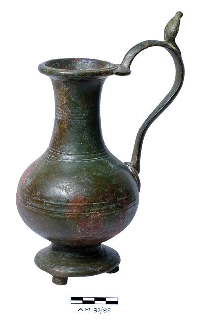 Cyprus Medieval Museum: Jug (MM644, AM 83/85 II 3)