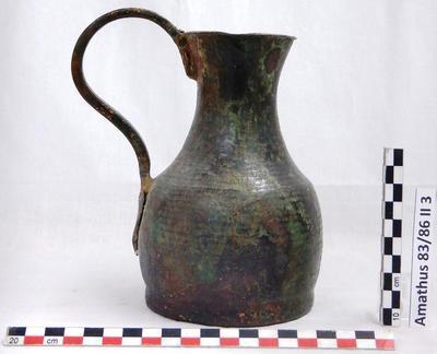Cyprus Medieval Museum: Jug (MM645, Amathus 83/86 II 3)