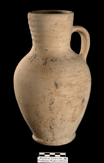 Cyprus Medieval Museum: Jug (MM1093(16), No. 16 p. 7  1989/xi-14)