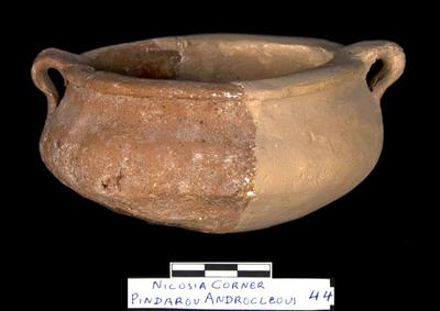 Cyprus Medieval Museum: Cooking Pot (MM1102, no. 44 p. 9  1989/xi-14)