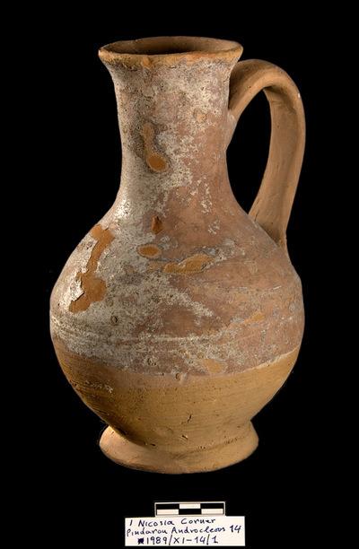 Cyprus Medieval Museum: Jug (MM1103, No. 14 p. 7  1989/xi-14)
