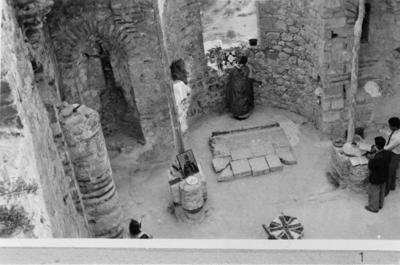 Department of Antiquities, Republic of Cyprus, Karmi, Church of Saint Hilarion, view of bema