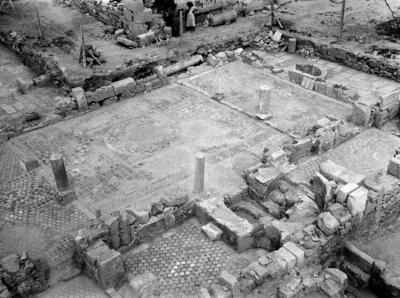 Department of Antiquities, Republic of Cyprus, Rizokarpaso, Basilica of Saint Philon, general view of the ruins of basilica and baptistery (B23356-2)