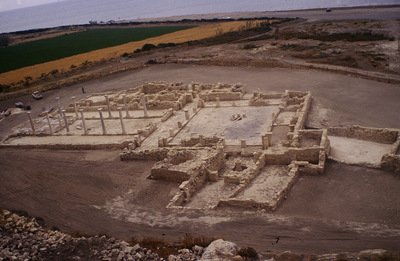 Department of Antiquities, Republic of Cyprus, Kourion, The Small Basilica (outside the city walls), general view of basilica