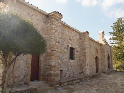 Department of Antiquities, Republic of Cyprus, Politiko, Monastery of Saint Herakleidios, north view of katholikon