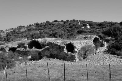Early Christian warehouse near the small chapel of Aghios Nikolaos, Agathonissi island