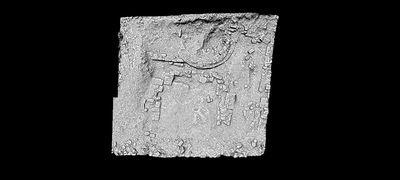 3D plan of the Early Chistian Basilica at the Prastia site (Aghia Assia), Hypsonas village, Limassol, Cyprus