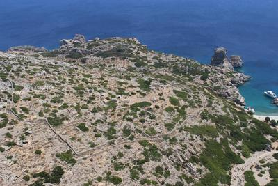 Burial chambers of the Roman/Early Christian necropolis of Palatia site, Saria islet (Dodecanese)