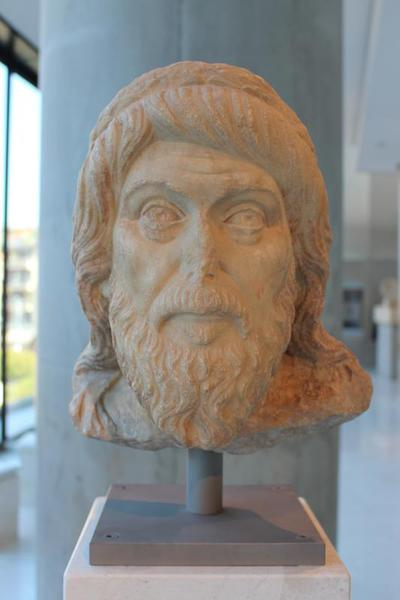 The Acropolis head. Discovered near the so-called House of Proklos on the South Slope of Acropolis, Athens