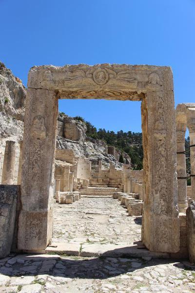 Alahan (Apadnas) ecclesiastical complex, Isauria, Turkey: West Church
