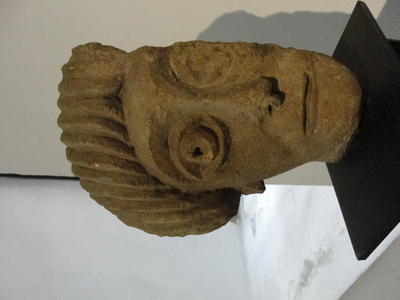 National Archaeological Museum, Sofia: Male head, Obzor, Bourgas region, Boulgaria