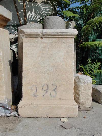 Base for statue of Vettius Agorius Praetextatus, governor of Achaea; Thespiae (Achaia); 362-364 AD