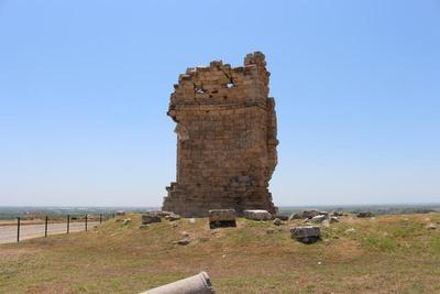 Apse of three-aisled Early Christian Basilica, St. Thecla pilgrimage site, Seleucia on the Calycadnus (Silifke)