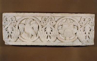 Μουσείο Ιεράς Μονής Κύκκου (Κύπρος): Μαρμάρινο παλαιοχριστιανικό ανάγλυφο (Δ 313)