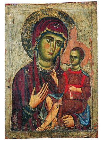 Μουσείο Ιεράς Μονής Κύκκου (Κύπρος): Εικόνα, Θεοτόκος Οδηγήτρια (E 835)