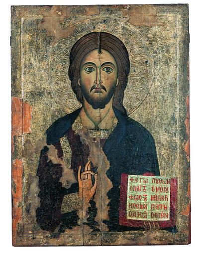 Μουσείο Ιεράς Μονής Κύκκου (Κύπρος): Εικόνα, Ιησούς Χριστός (Ε 836)