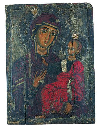 Μουσείο Ιεράς Μονής Κύκκου (Κύπρος): Εικόνα, Θεοτόκος Οδηγήτρια (Ε 824)