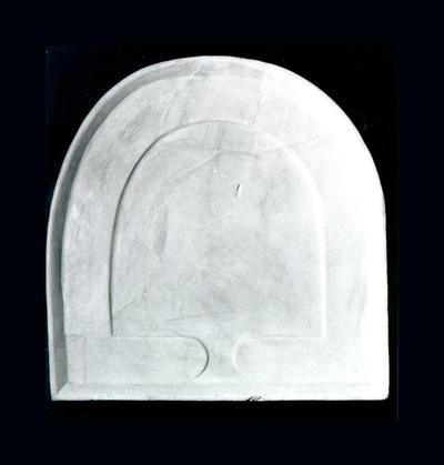 Μουσείο Ιεράς Μονής Κύκκου (Κύπρος): Μαρμάρινη παλαιοχριστιανική τράπεζα σιγμοειδής (Δ 233)