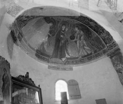 Press and Information Office, Republic of Cyprus: Kiti, Panagia Angeloktiste, Mother of God and Christ Child with Archangels (2B-057-013)