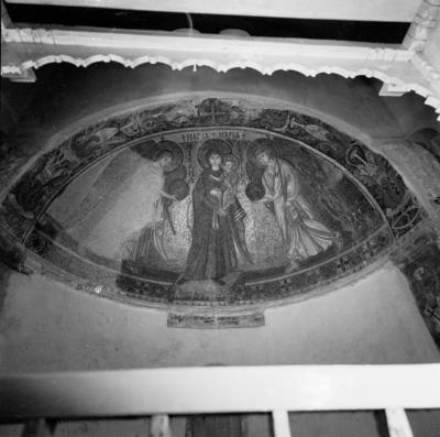 Press and Information Office, Republic of Cyprus: Kiti, Panagia Angeloktiste, Mother of God and Christ Child with Archangels (2B-068-002)