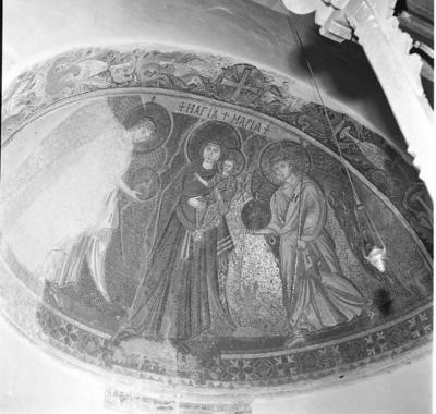 Press and Information Office, Republic of Cyprus: Kiti, Panagia Angeloktiste, Mother of God and Christ Child with Archangels (4A-012-001)
