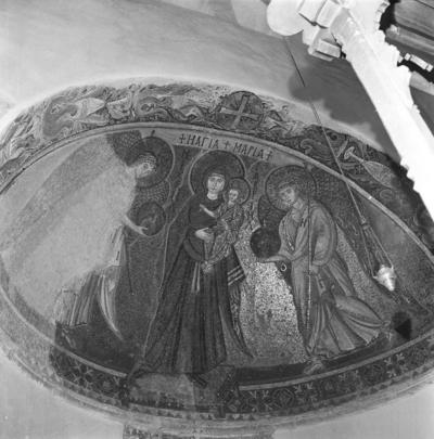 Press and Information Office, Republic of Cyprus: Kiti, Panagia Angeloktiste, Mother of God and Christ Child with Archangels (4A-012-002)