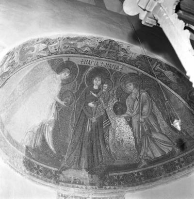 Press and Information Office, Republic of Cyprus: Kiti, Panagia Angeloktiste, Mother of God and Christ Child with Archangels (4A-012-003)